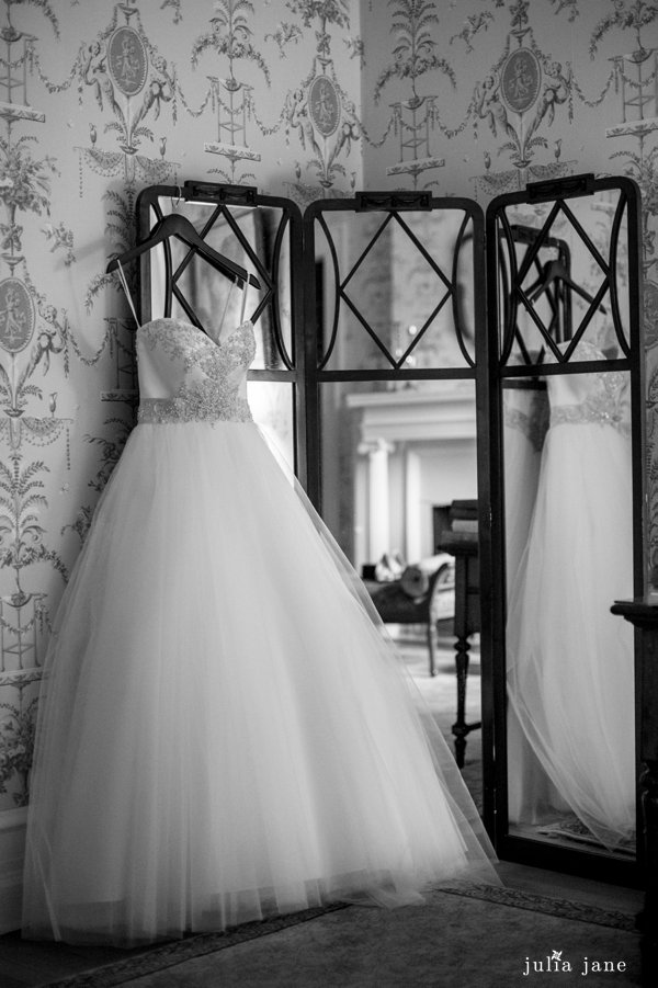 wedding gown at cairnwood estate