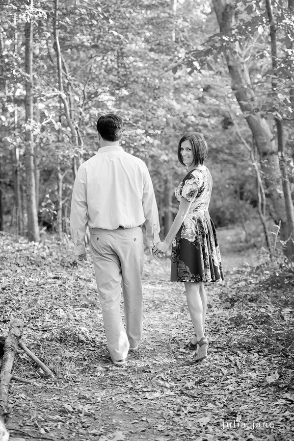 fall engagement session at tod's point