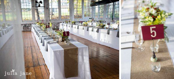fall wedding at the lace factory in deep river, ct
