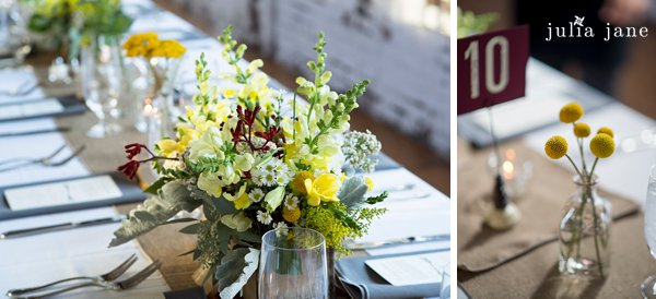 yellow florals by stylish blooms