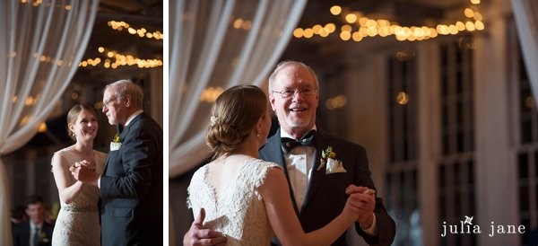 father daughter dance at the lace factory in deep river ct