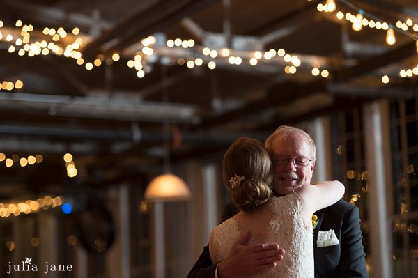 father daughter dance at the lace factory