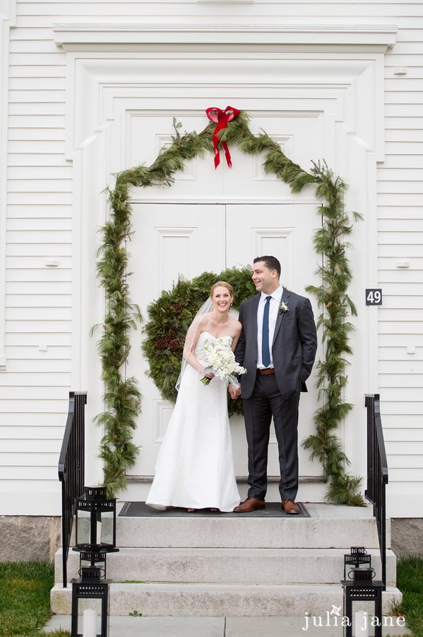 winter wedding in mystic connecticut by connecticut wedding photographer julia jane studios