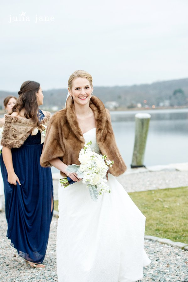 winter wedding at Mystic Seaport Wedding by Connecticut Wedding Photographer Julia Jane Studios