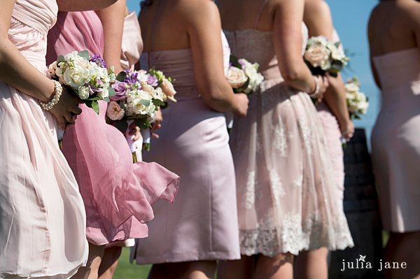 pink and ivory wedding at saltwater farm