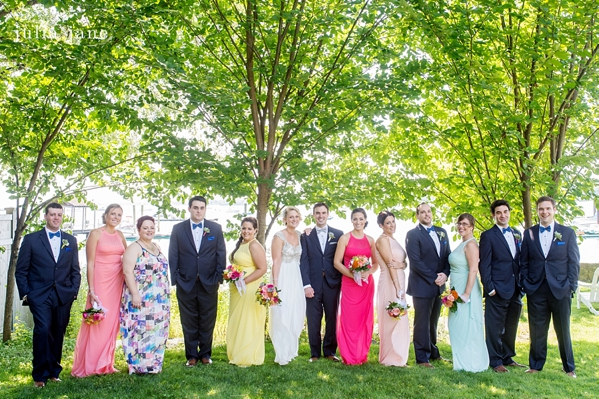Darien country club wedding