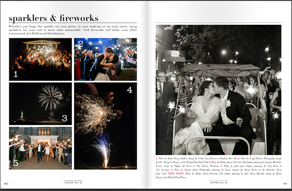 Fireworks at weddings by Connecticut Family Photographer Julia Jane Studios