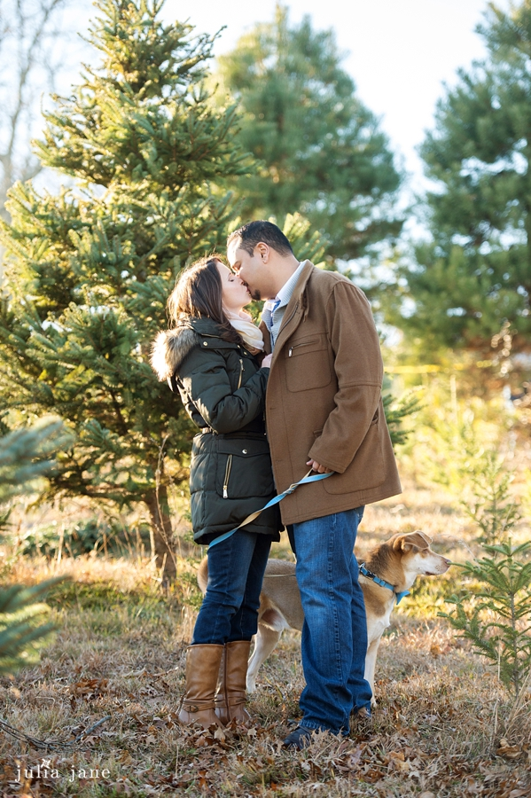 winter engagement session in connecticut by connecticut wedding photographer julia jane studios