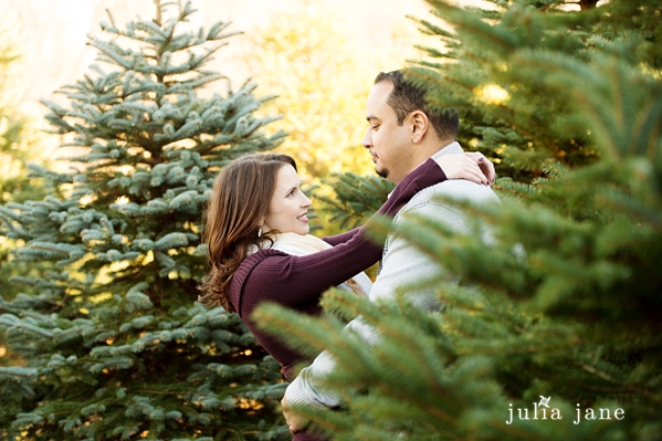 romantic winter engagement session in connecticut