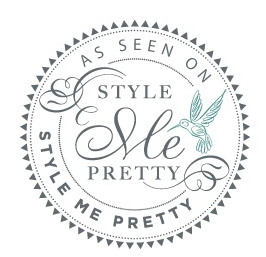 Featured on Style Me Pretty: Lauren & Adam