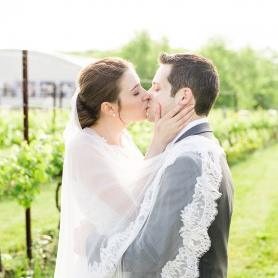 Featured Wedding: Saltwater Farm Vineyard