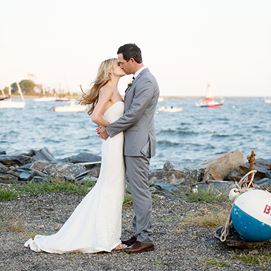 Black Rock Yacht Club Wedding: