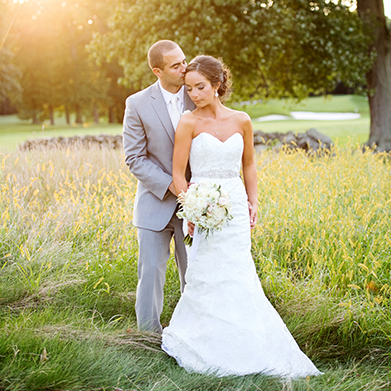 Brooklawn Country Club Wedding: