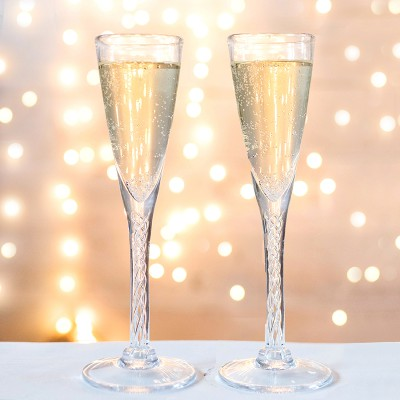 Love is in the Details: Champagne Flutes