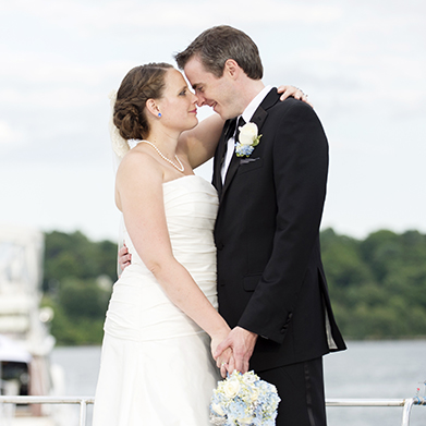 Coast Guard Academy Wedding: