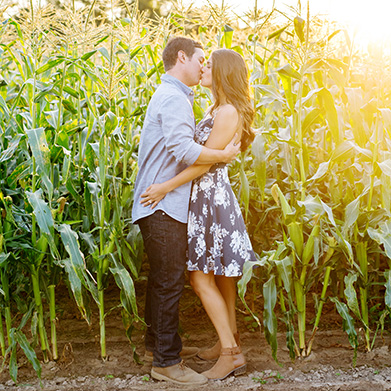 A Glastonbury Engagement Session: