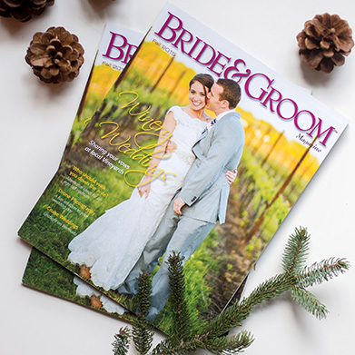 Cover Feature: Bride & Groom Magazine