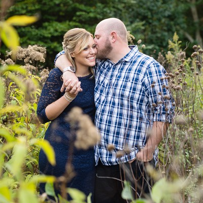 Engagement at Bartlett Arboretum: