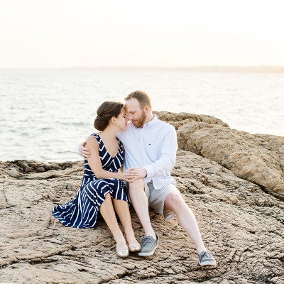 Engagement Session at Lighthouse Point:
