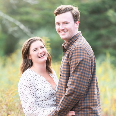 Engagement session in Fairfield County