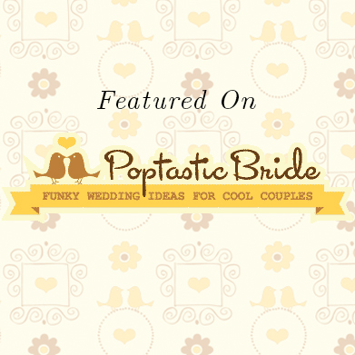 Featured on Poptastic Bride: Michelle & Kyle