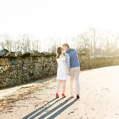 Greenwich Engagement Session:
