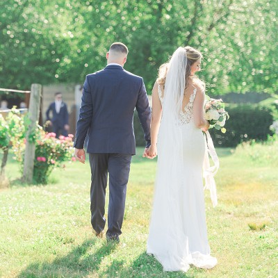 An Intimate Wedding at Saltwater Farm Vineyard: