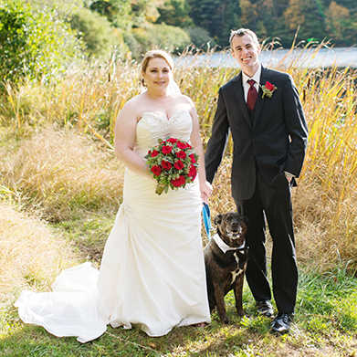 Intimate Connecticut Wedding: