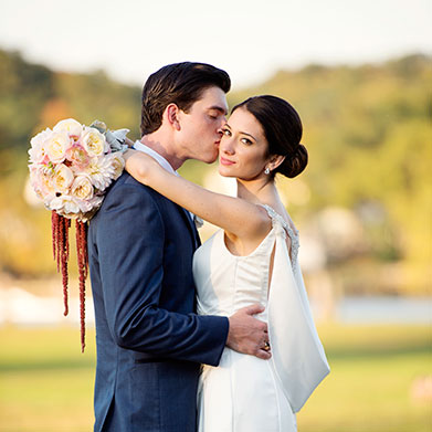 Riverhouse Wedding: MacKenzie & Jimmy