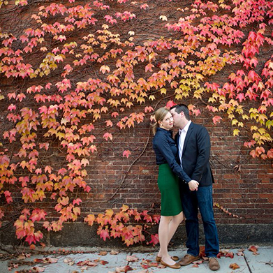 Charlestown Engagement: Dorothy & James