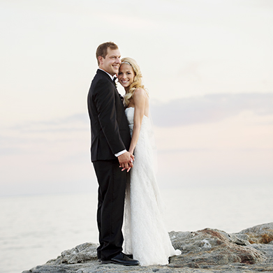 Madison Beach Hotel Wedding: Cara & Chris