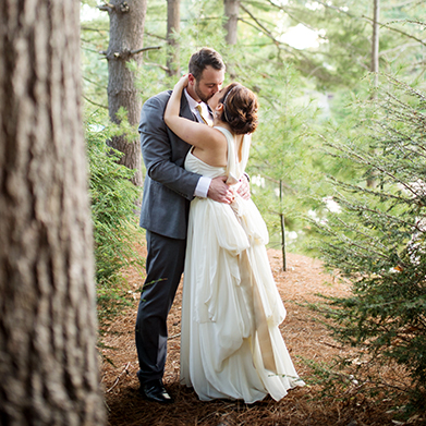 Pavilion on Crystal Lake Wedding: