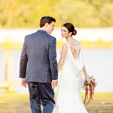 Riverhouse at Goodspeed Station Wedding: