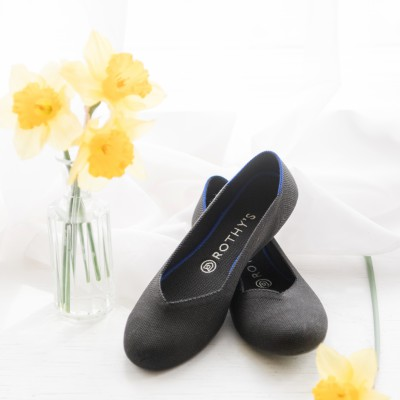 The most comfortable flats:  Rothy's
