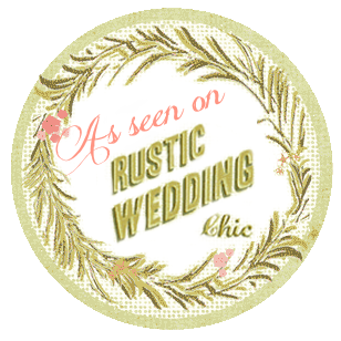 Featured on Rustic Wedding Chic: Kara & Matt