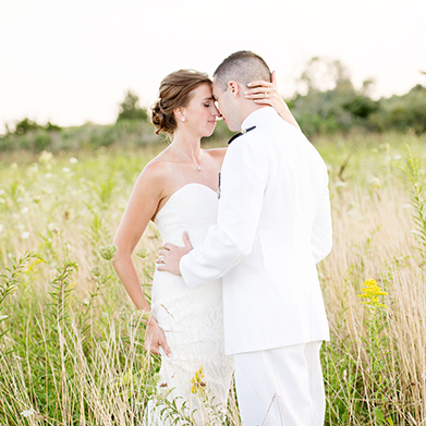 Saltwater Farm Vineyard Wedding: 
