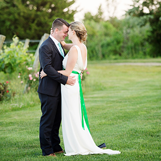 A Saltwater Farm Wedding: Dorothy & James