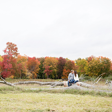 South Glastonbury Engagement Session: