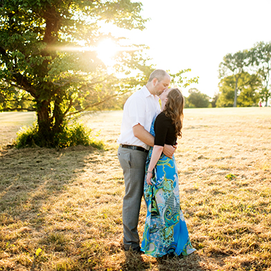 A Waveny Park Engagement Session: