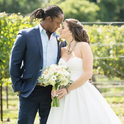 Wedding at Chamard Vineyard: