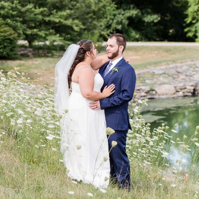 Wedding at Fox Hopyard Golf Course: