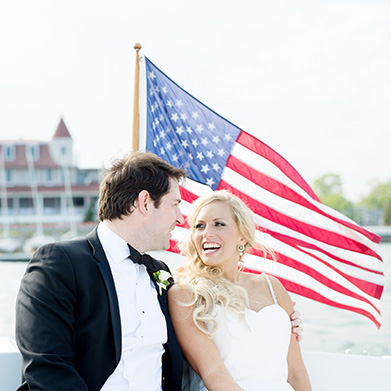 Wedding at the Larchmont Yacht Club: