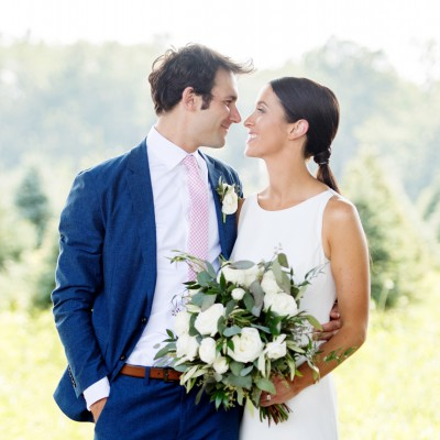 Wedding at Maple Row Tree Farm: