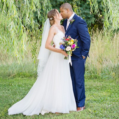 Wedding at the Red Maple Vineyard: