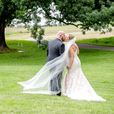 Wedding at Red Maple Vineyard:
