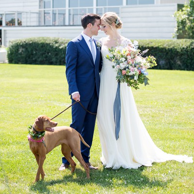 Wedding At Saltwater Farm Vineyard: