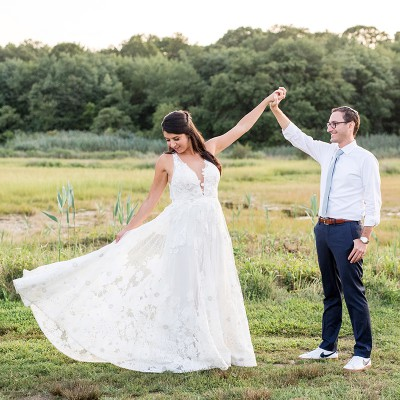Wedding at Saltwater Farm Vineyards:
