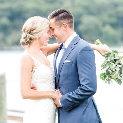 Wedding at the Mystic Boat Shed: