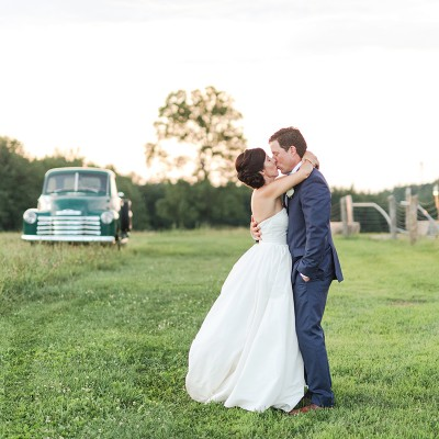 Wedding at Valley View Farm: