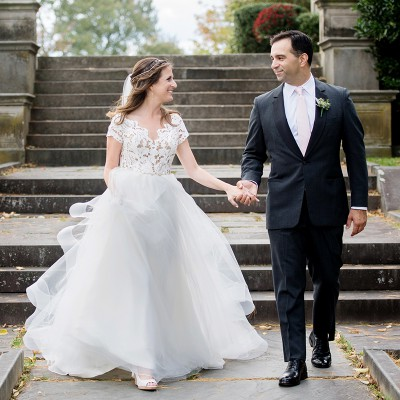 Wedding at Waveny House: